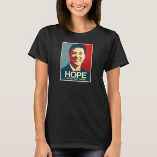 Camiseta Propaganda de Comey - esperança há as fitas - -