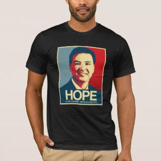 Camiseta Propaganda de Comey - esperança para a destituição