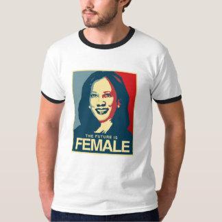 Camiseta Propaganda de Kamala Harris - o futuro é fêmea -