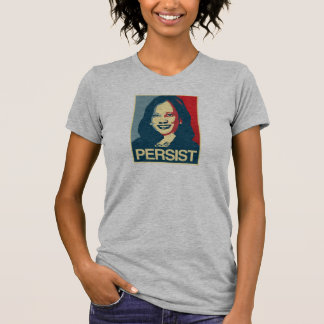 Camiseta Propaganda de Kamala Harris - PERSISTA -