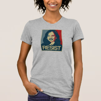 Camiseta Propaganda de Kamala Harris - RESISTA -