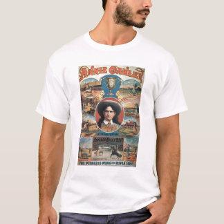 Camiseta Propaganda de poster Annie Oakley que caracteriza