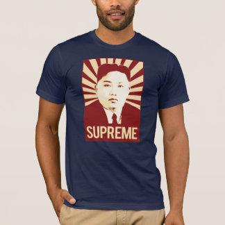 Camiseta Propaganda do Un de Kim Jong - suprema -