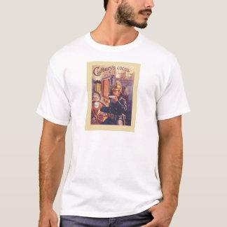 Camiseta Propaganda do vintage, o cacau de Cadbury,
