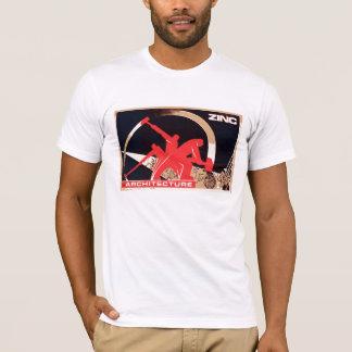 Camiseta propaganda do zinco