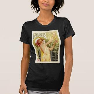 Camiseta Propaganda francesa do absinto do vintage