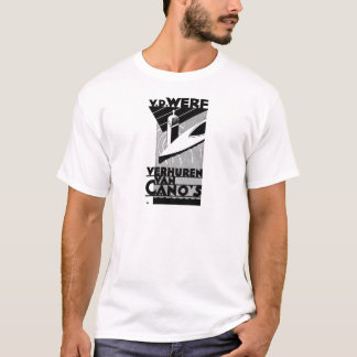 Camiseta propaganda retro do vintage - arrendamentos da