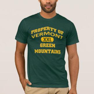 Camiseta Propert de montanhas verdes de Vermont XXL