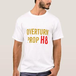 Camiseta Proposição 8 da reviravolta, Califórnia