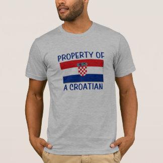 Camiseta Propriedade croata