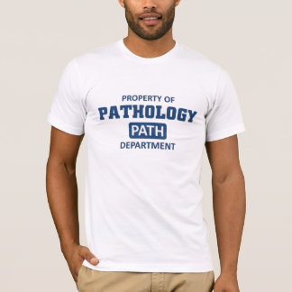 Camiseta Propriedade da patologia