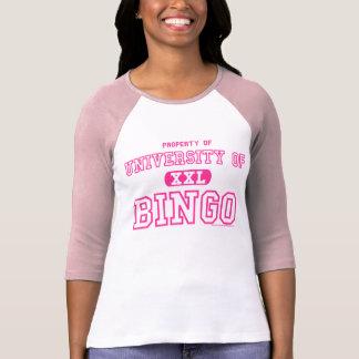 Camiseta Propriedade da universidade do jérsei das senhoras