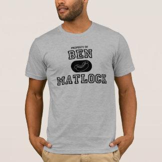 Camiseta Propriedade de Ben Matlock