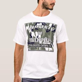 Camiseta propriedade de Filipinas (costume)