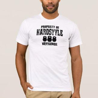 Camiseta Propriedade de Hardstyle Kettlebell