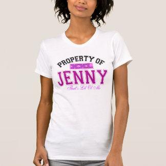 Camiseta Propriedade de Jenny