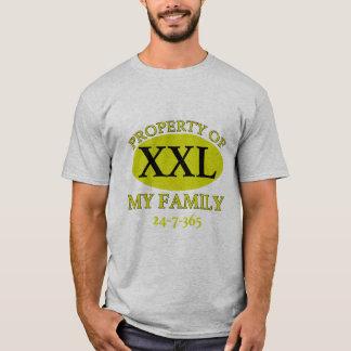 Camiseta Propriedade de minha família