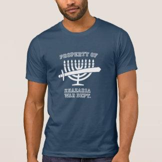 Camiseta Propriedade de T-shirt da guerra de Khazaria de