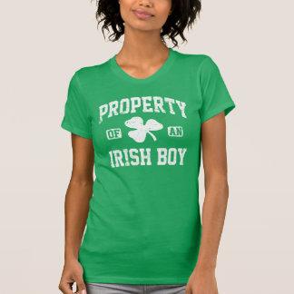 Camiseta Propriedade de um menino irlandês