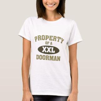 Camiseta Propriedade de um porteiro