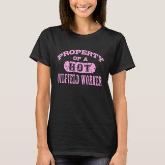 Camiseta Propriedade de um trabalhador quente do campo