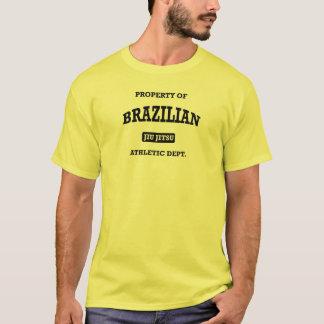 Camiseta Propriedade do brasileiro Jiu Jitsu Atheltic