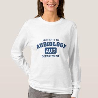 Camiseta Propriedade do departamento da audiologia