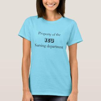 Camiseta propriedade do ICU