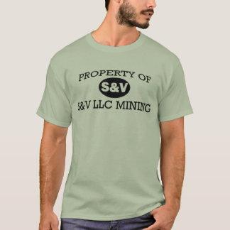 Camiseta Propriedade do LLC de S&V