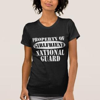 Camiseta Propriedade do namorada da guarda nacional