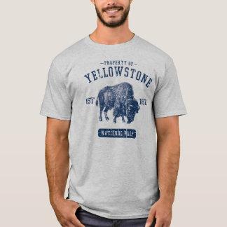 Camiseta Propriedade do parque nacional de Yellowstone