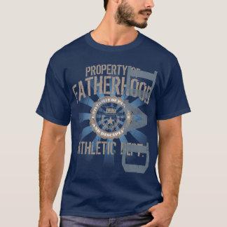 Camiseta Propriedade do t-shirt escuro atlético da