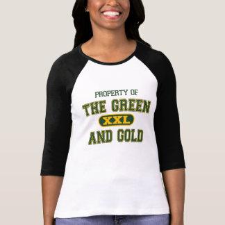 Camiseta Propriedade do verde e do Gold1