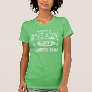 Camiseta Propriedade do vintage da equipe irlandesa do