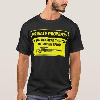 Camiseta Propriedade privada