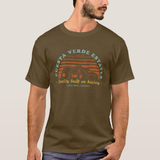 Camiseta Propriedades de Cuesta Verde - fase uma (afligida)