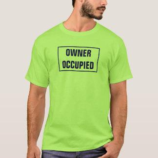 Camiseta PROPRIETÁRIO - OCUPADO (verde)