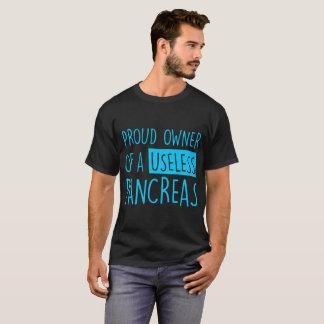 Camiseta Proprietário orgulhoso de um Tshirt inútil do