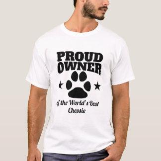Camiseta Proprietário orgulhoso do melhor Chessie do mundo