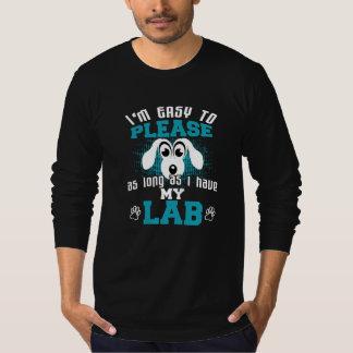 Camiseta Proprietários engraçados do cão do laboratório