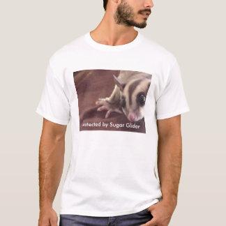 Camiseta Protegido pelo planador do açúcar, ADVERTINDO