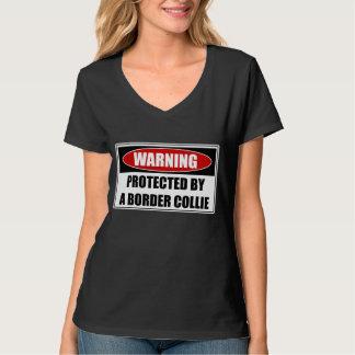 Camiseta Protegido por border collie