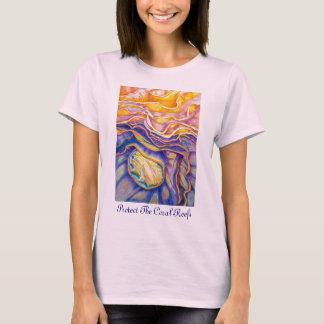 Camiseta Proteja os recifes de corais