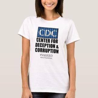 Camiseta Protesto Center do activista da corrupção da