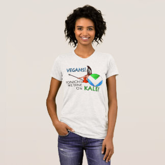 """Camiseta Protetor da bandeira 300 do Vegan """"hoje à noite"""