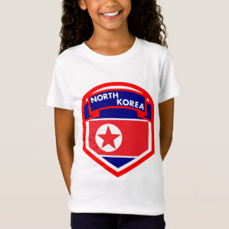 Camiseta Protetor da bandeira da Coreia do Norte