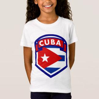Camiseta Protetor da bandeira de Cuba