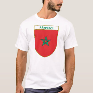 Camiseta Protetor da bandeira de Marrocos