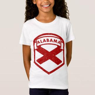 Camiseta Protetor da bandeira do estado de Alabama