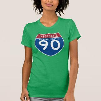Camiseta Protetor da estrada nacional das MÃES I-90 de